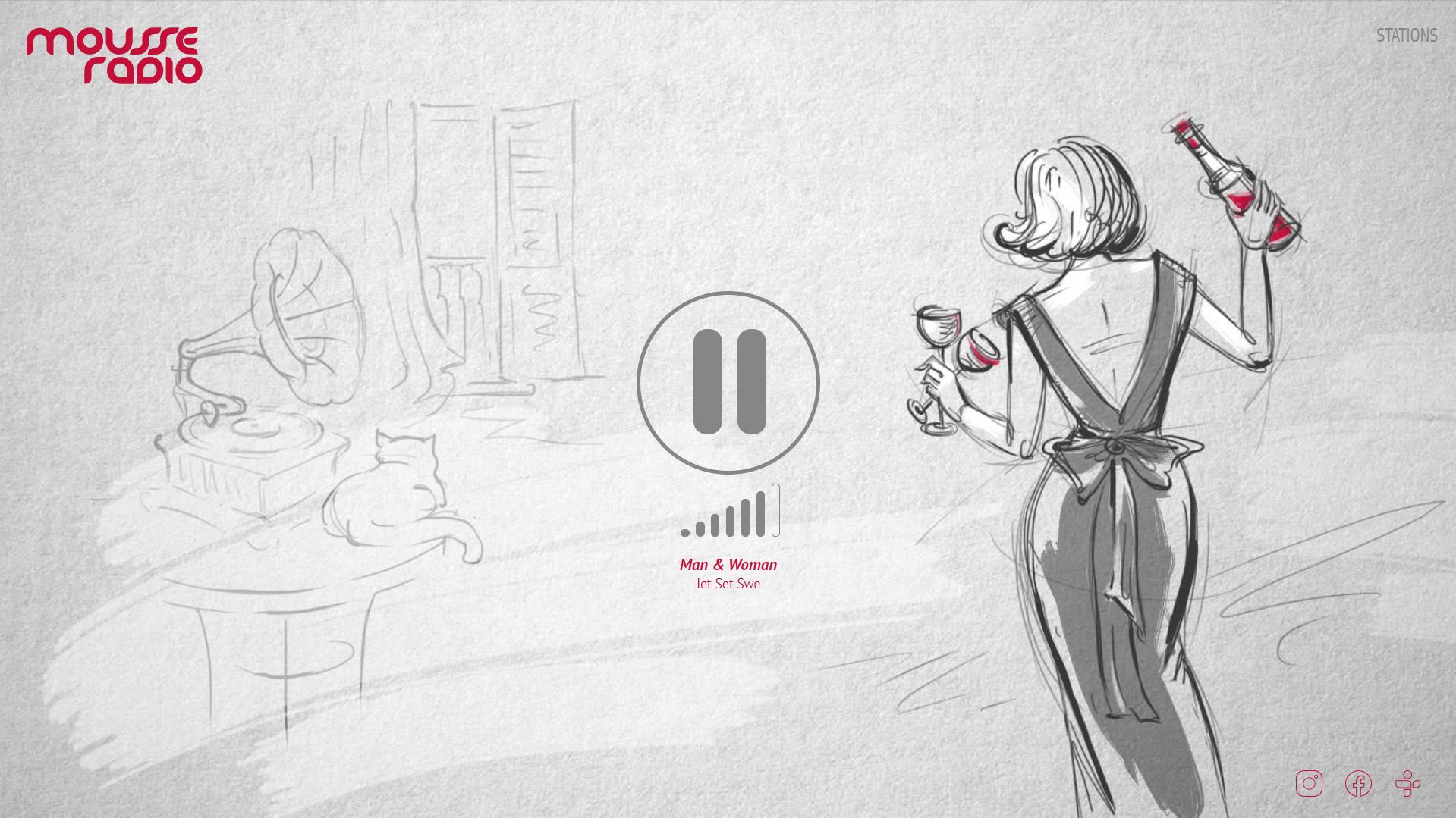 Mousse Radio | Серцевина