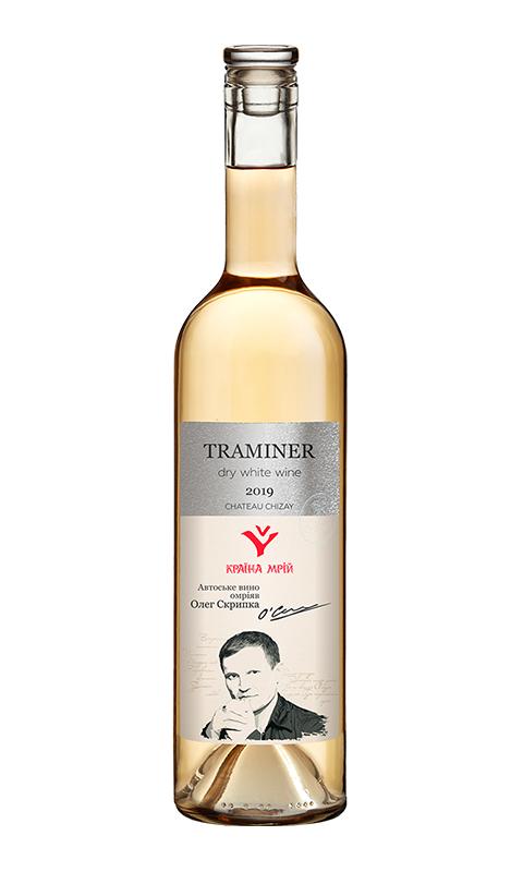 """Вино Chizay """"Країна Мрій"""" Traminer"""