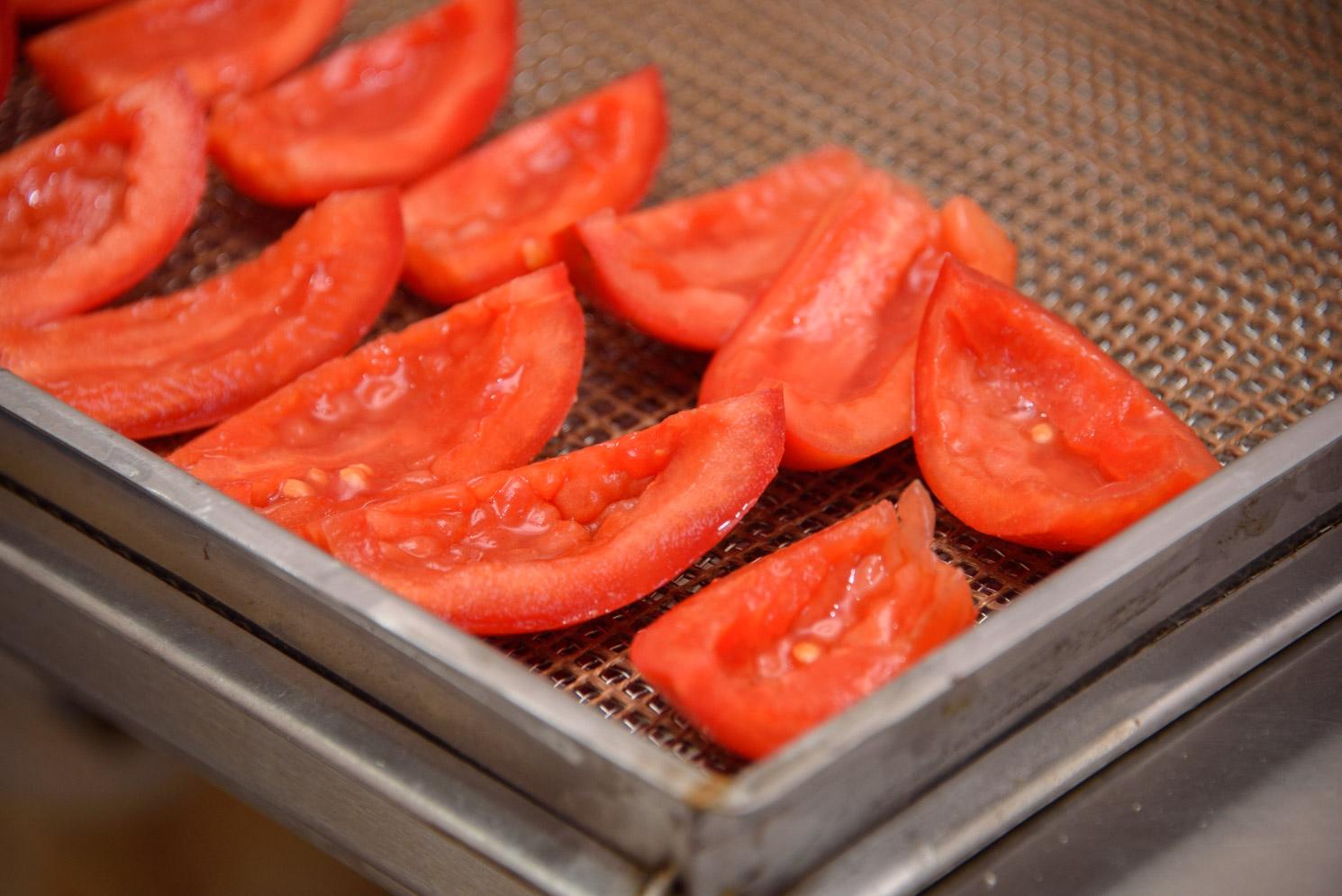 Вирощені власноруч помідори