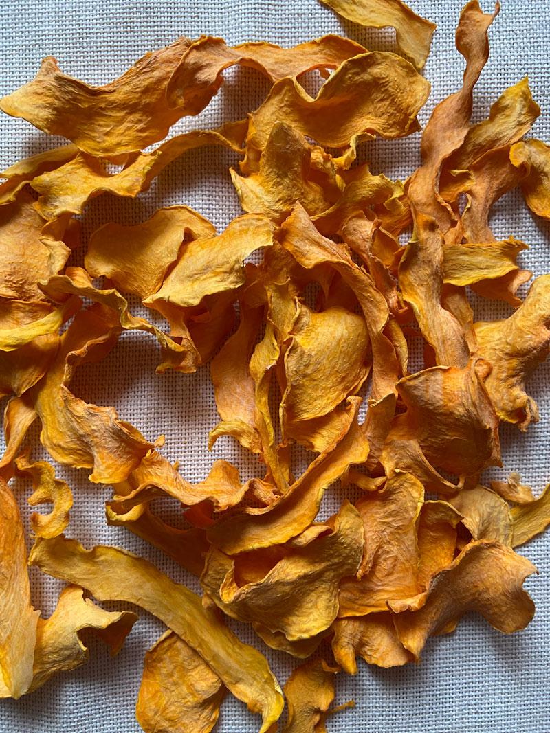 Гарбузові сушені чипси