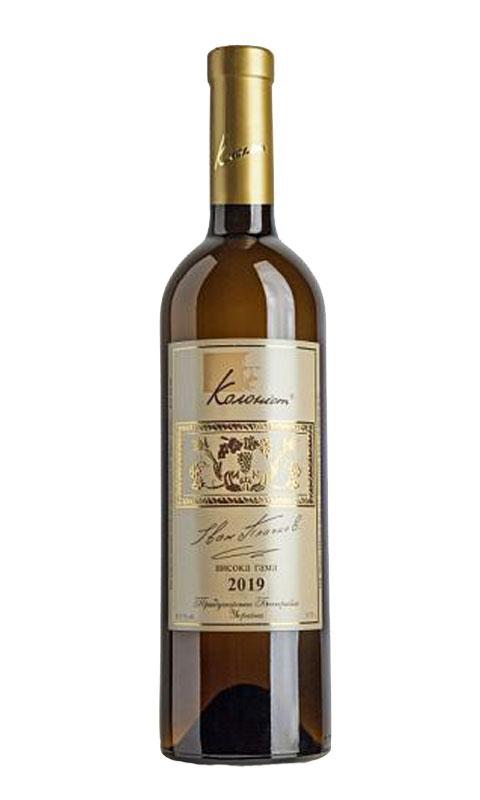 Вино Колоніст Шардоне «Висока гама» 2019