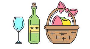Вино на Великдень