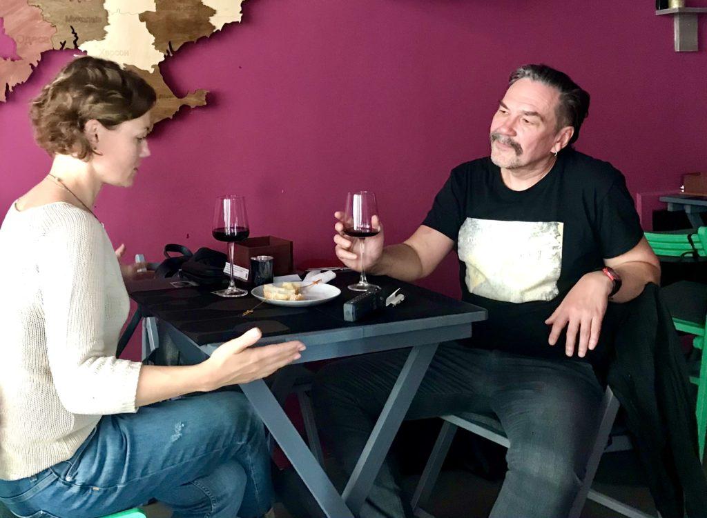 Юрій Андрухович і вино